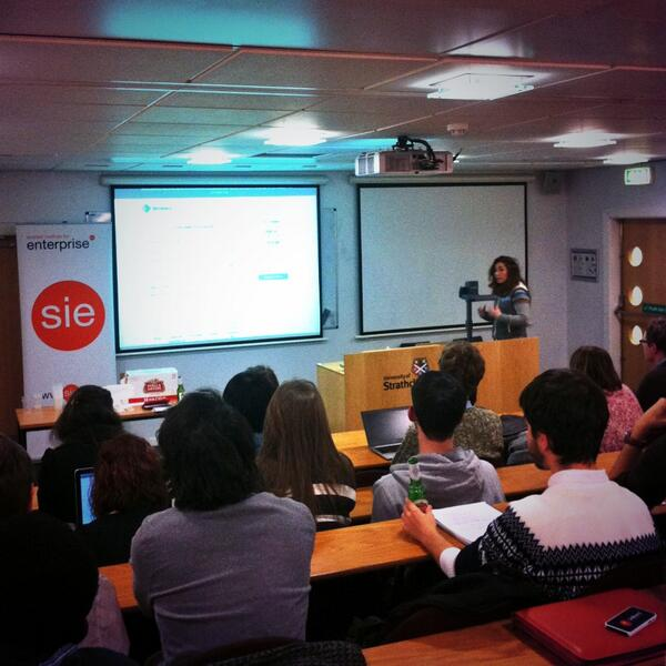 Ashley speaking at SIE