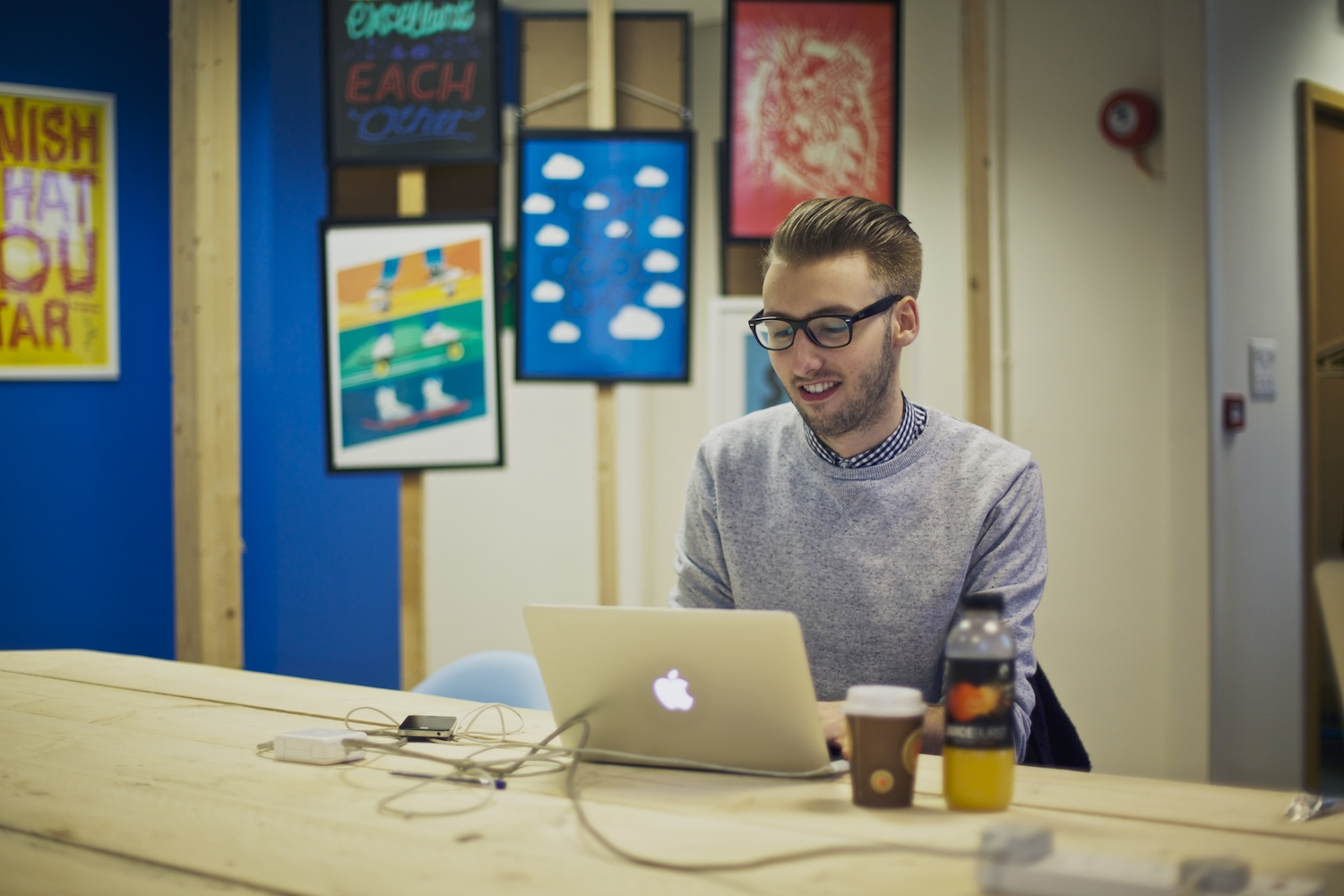Jack at Founders Hub
